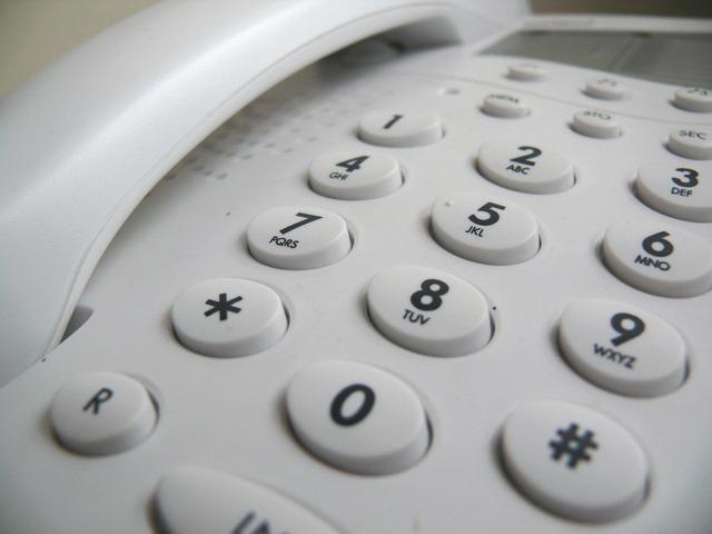 de teléfono