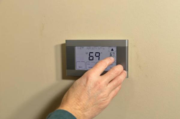 Considere un termostato programable